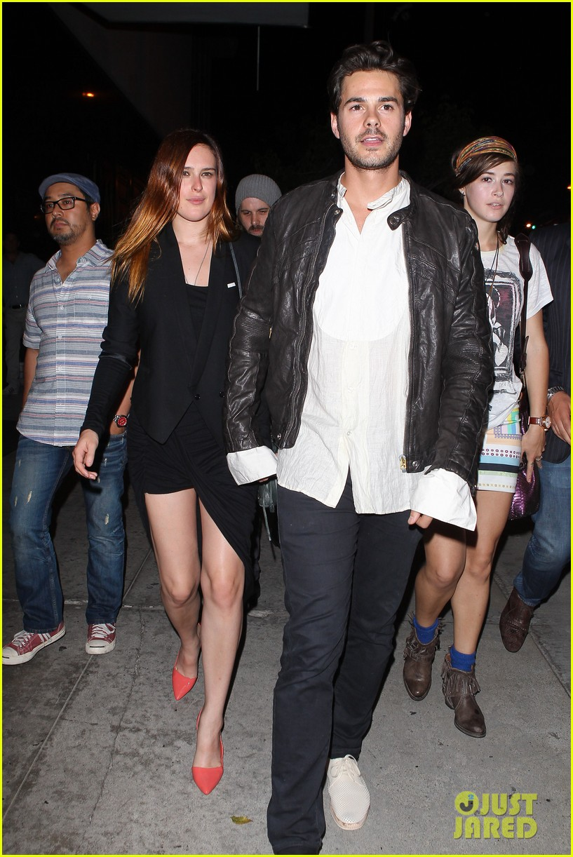 rumer willis jayson blair bootsy bellows couple 022901224