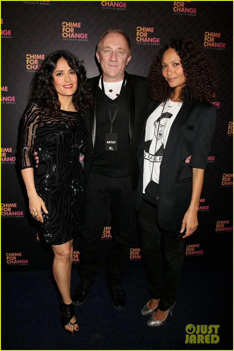 zoe saldana thandie newton chime for change concert 03