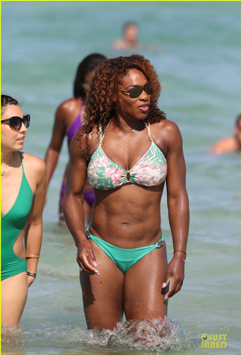 serena williams miami bikini beach babe 092891965