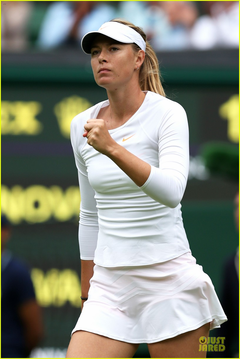 maria sharapova grigor dimitrov hold hands during wimbledon first rounds 272898008
