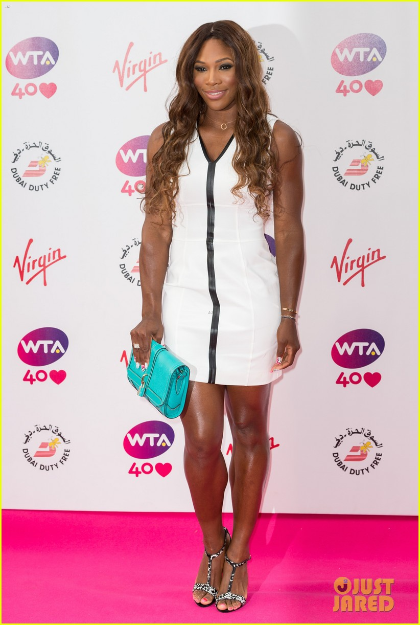 maria sharapova serena williams pre wimbledon party 012895301