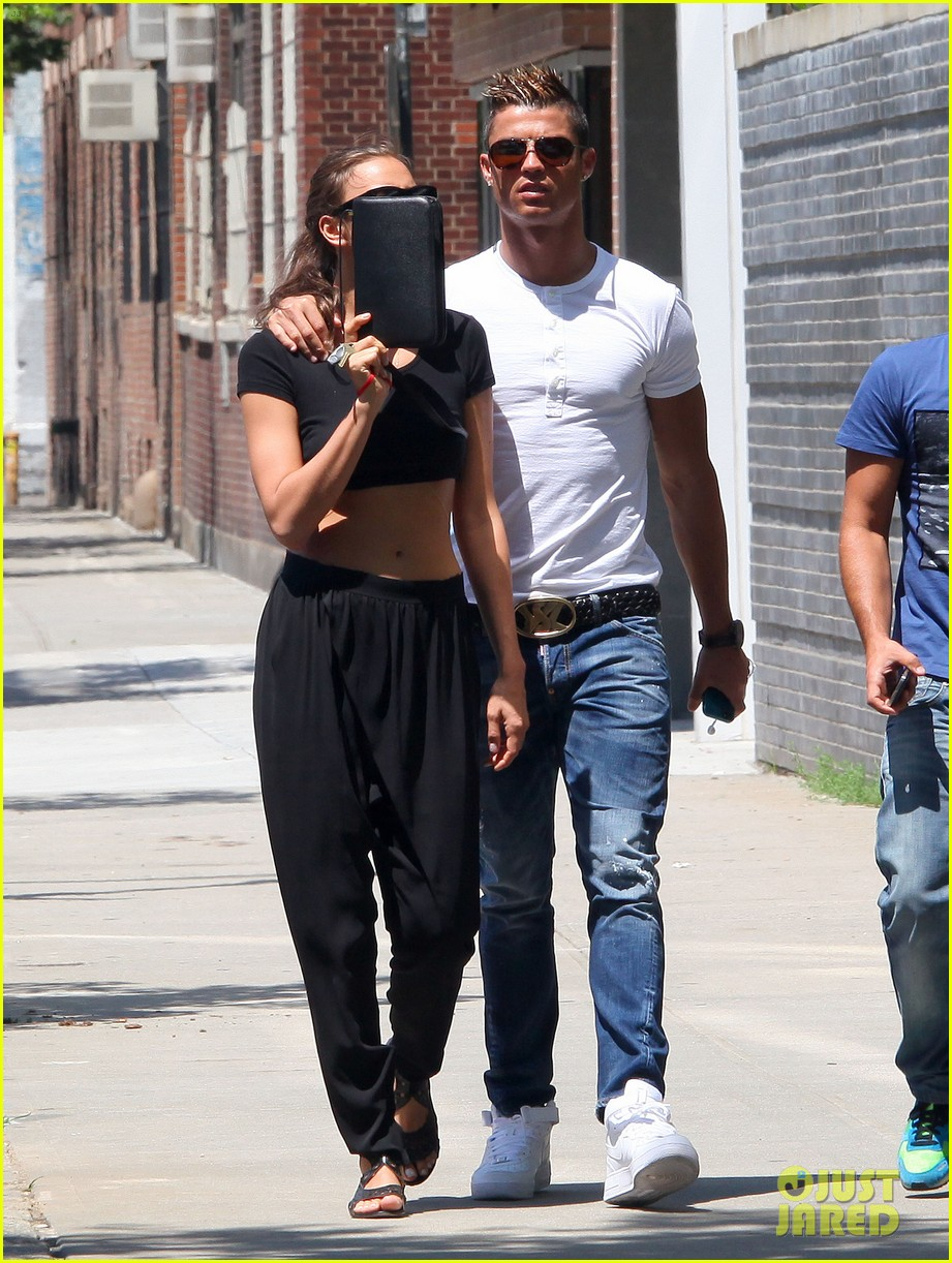 cristiano ronaldo irina shayk new york lovebirds 272894646