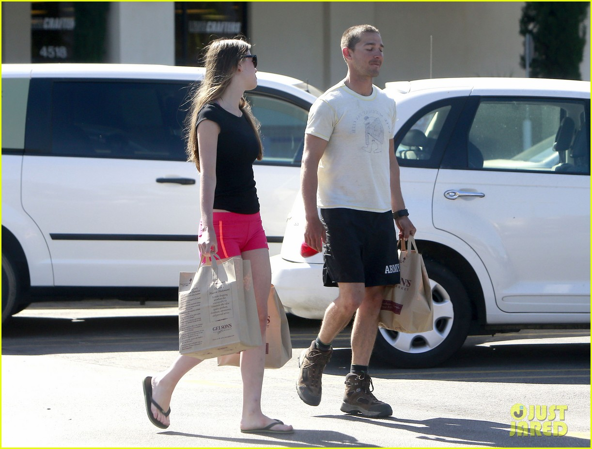 shia labeouf mia goth stock up for summer weekend 01