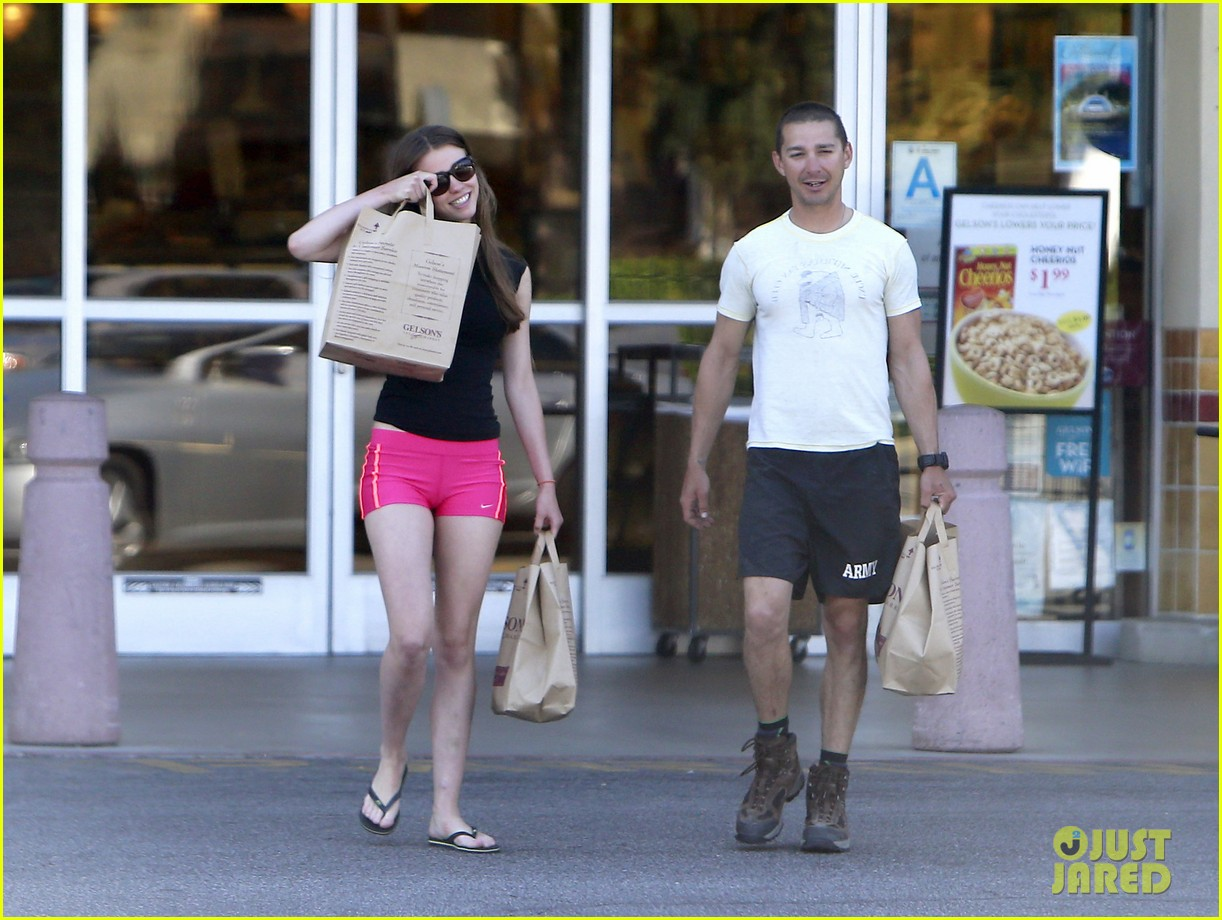 shia labeouf mia goth stock up for summer weekend 07