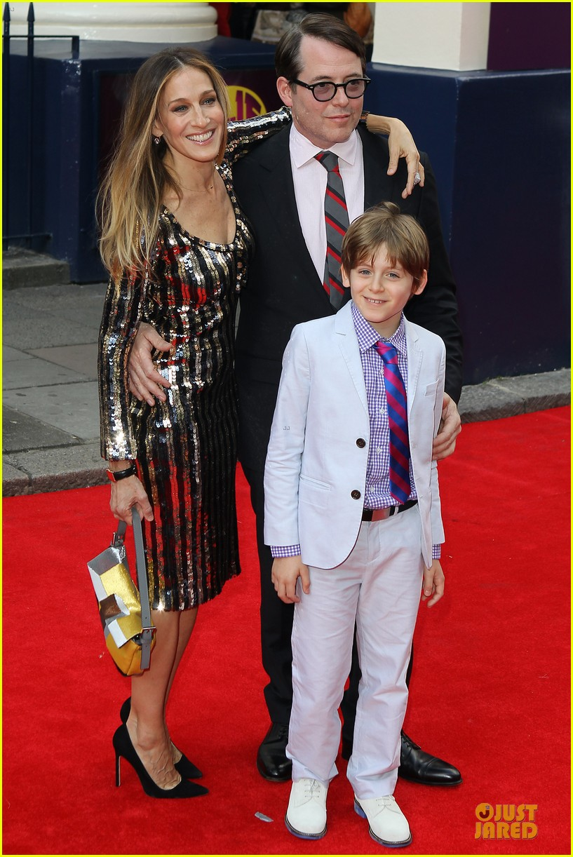 sarah jessica parker matthew broderick charlie and the chocolate factory press night 05