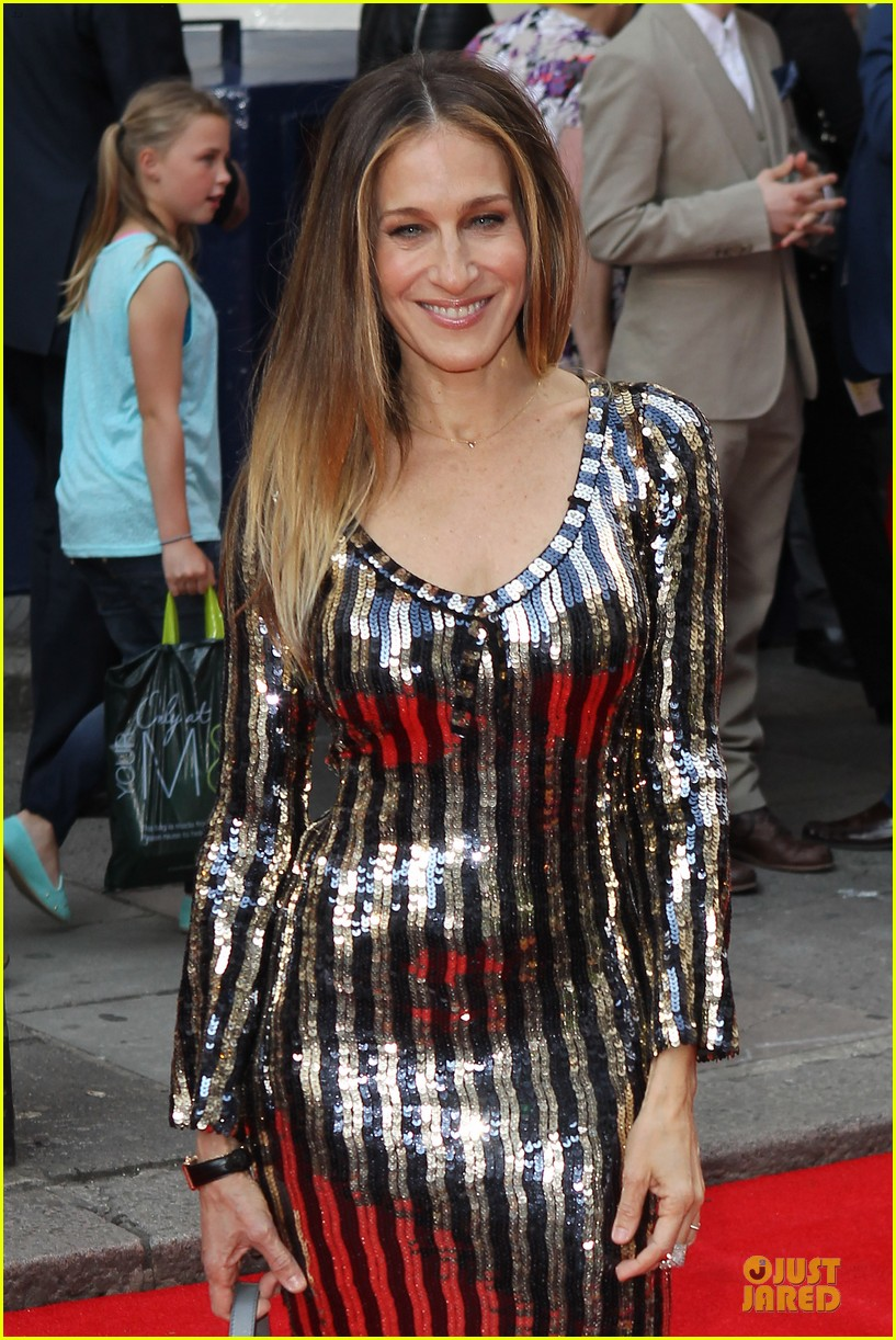 sarah jessica parker matthew broderick charlie and the chocolate factory press night 072898337