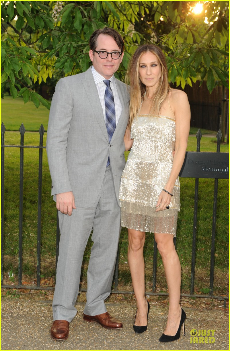 sarah jessica parker matthew broderick serpentine gallery summer party 012898996