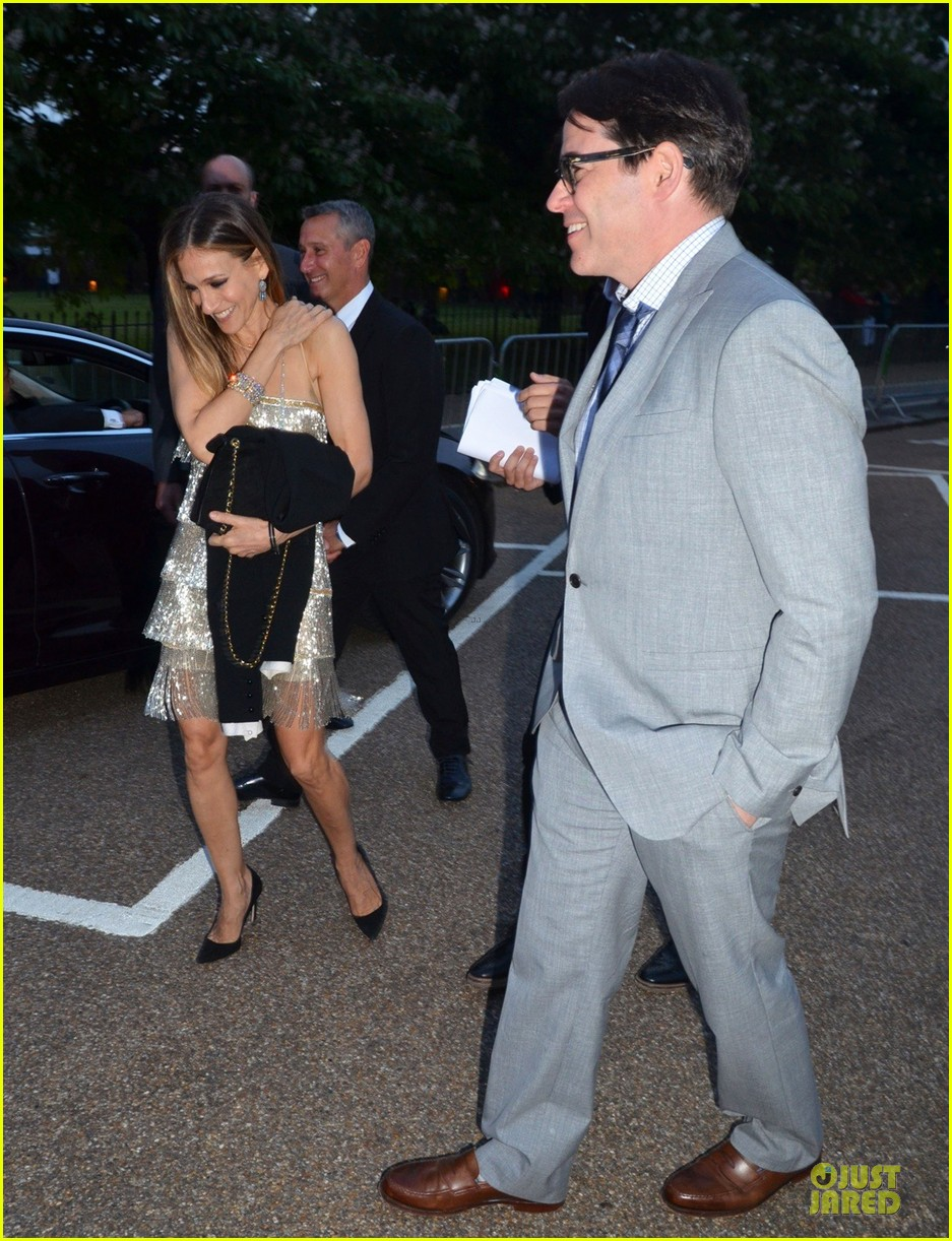 sarah jessica parker matthew broderick serpentine gallery summer party 082899003