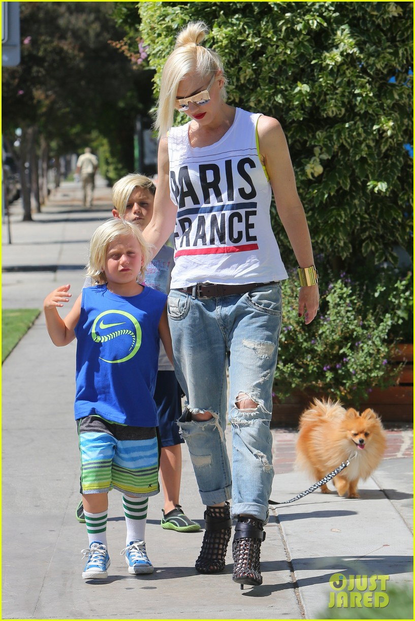gwen stefani gavin rossdale ice cream with the kids 202899427