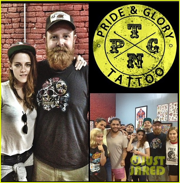 kristen stewart gets tattoo in nasvhille 022897659