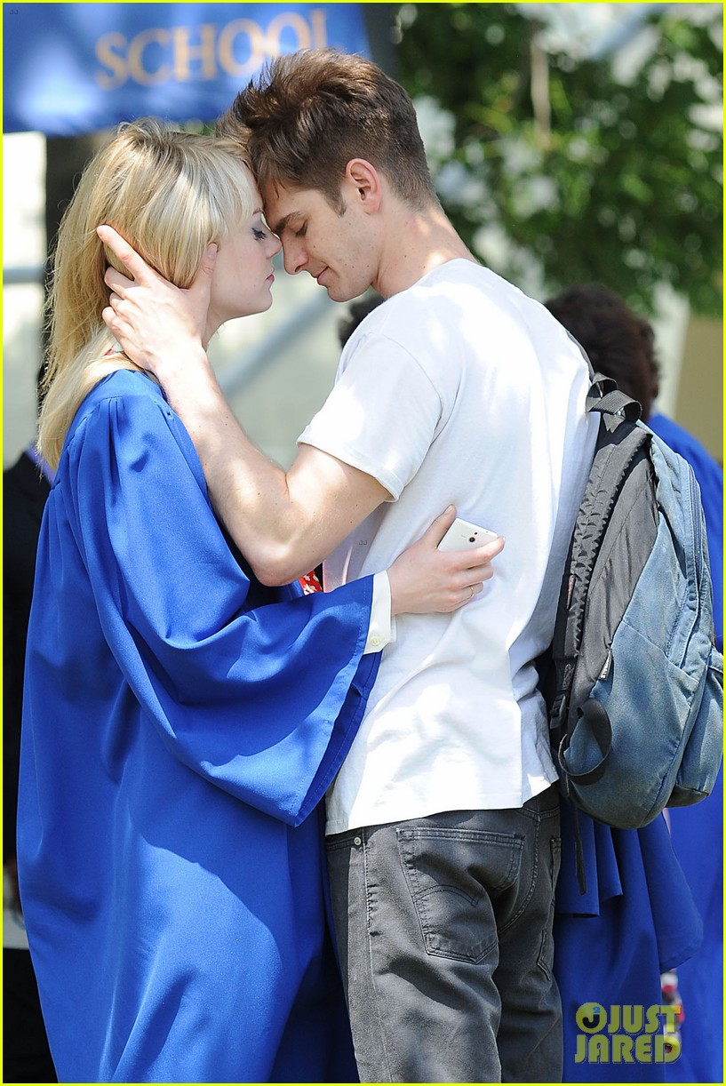 Emma Stone And Andrew Garfield Spiderman 3