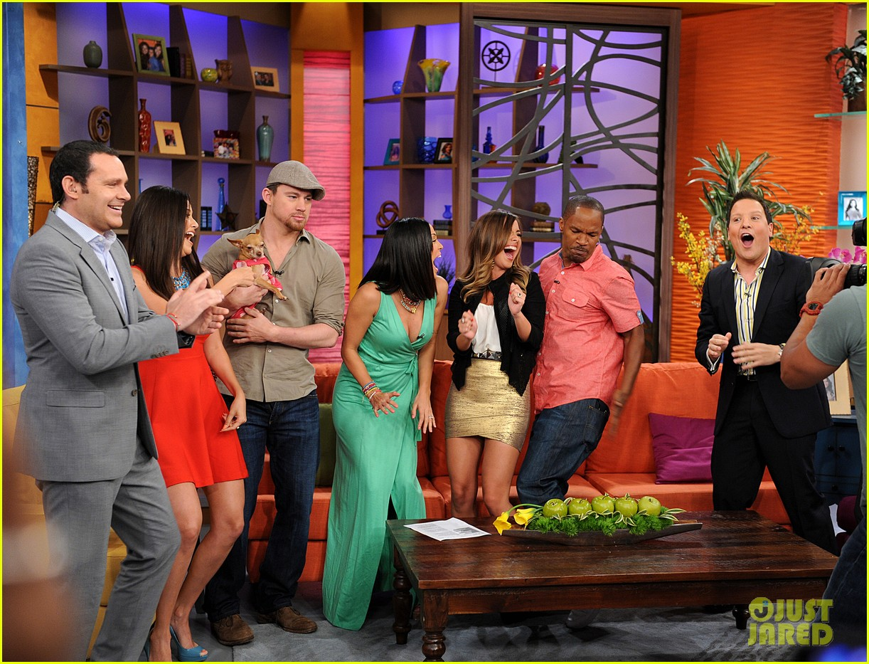 channing tatum jamie foxx dance for despierta america 022897756