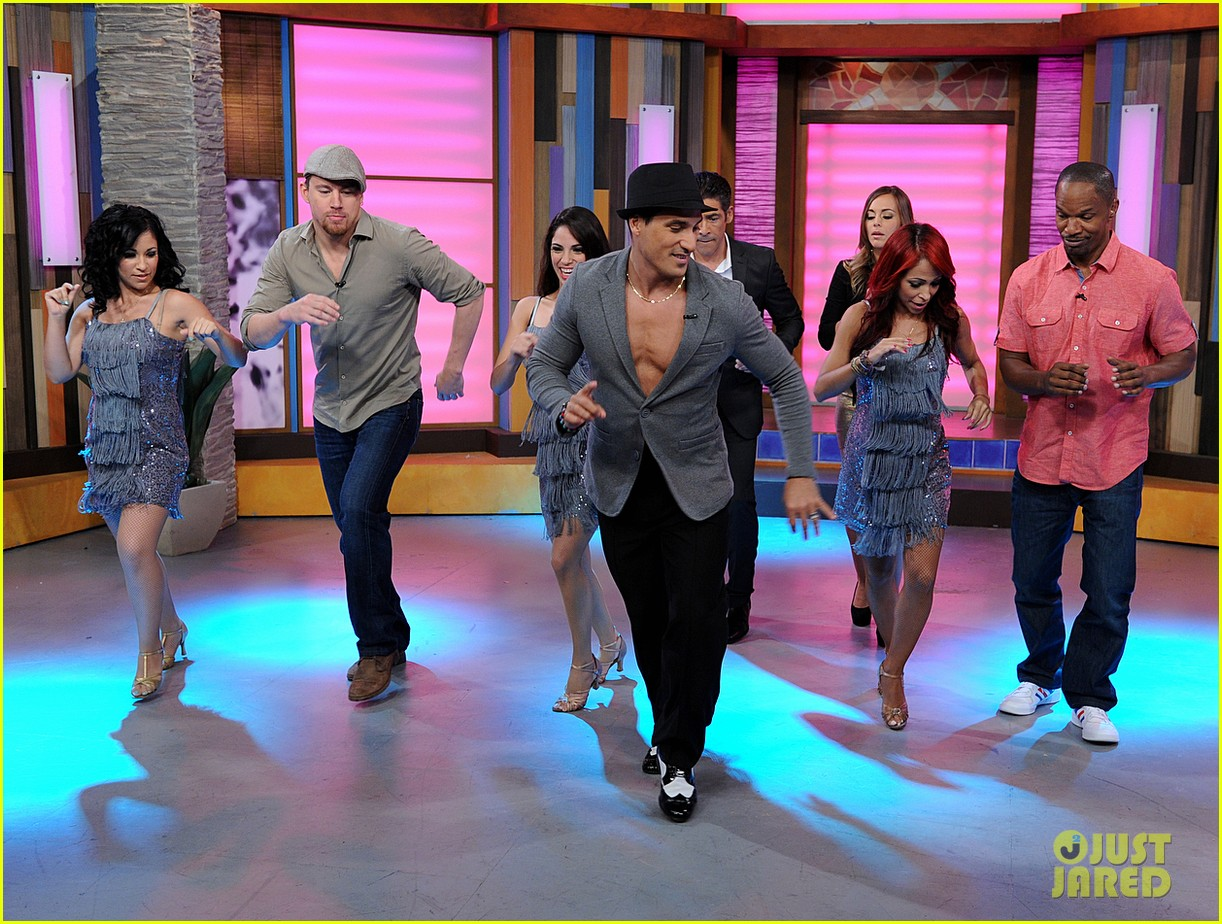 channing tatum jamie foxx dance for despierta america 03
