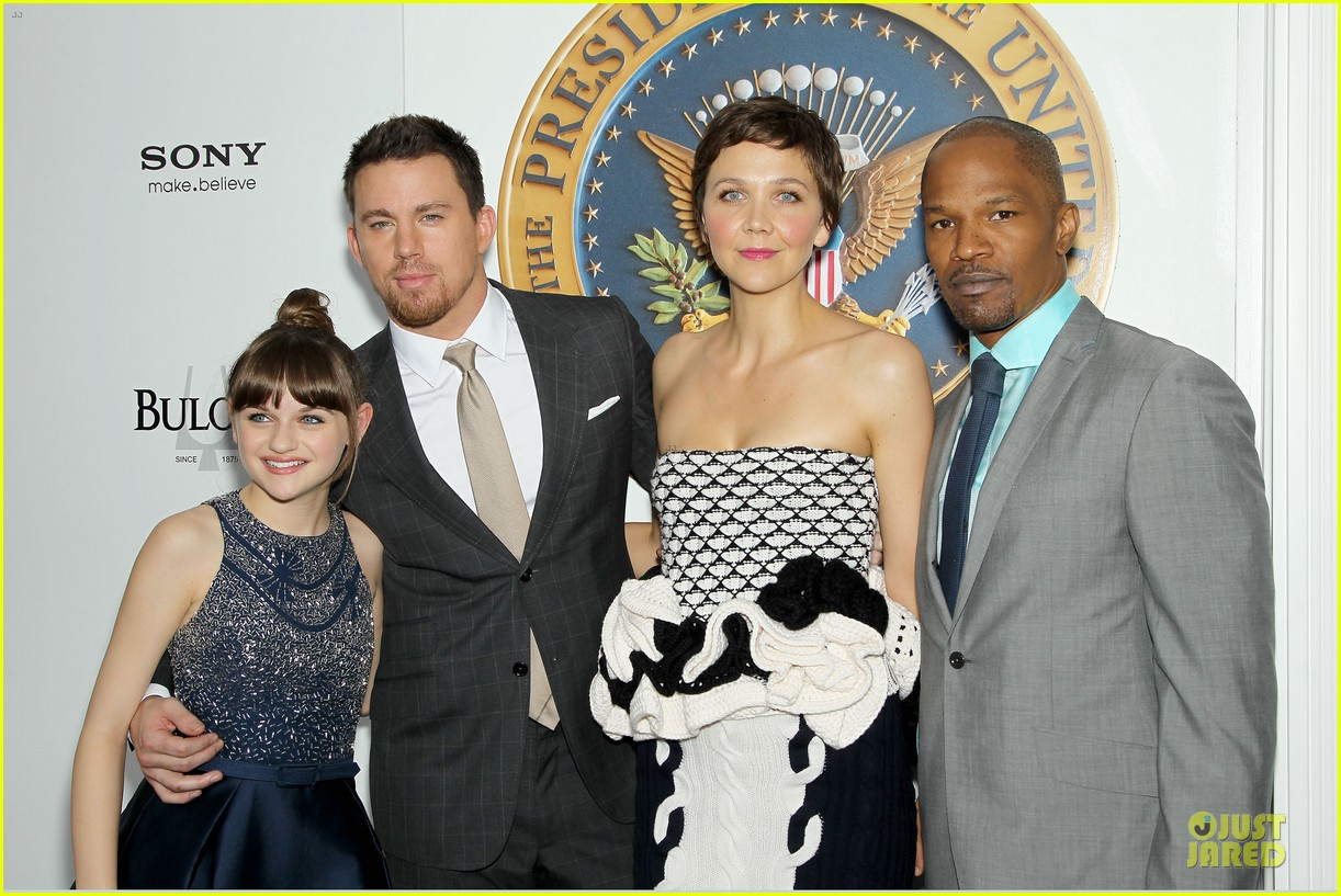 channing tatum jamie foxx white house down nyc premiere 02