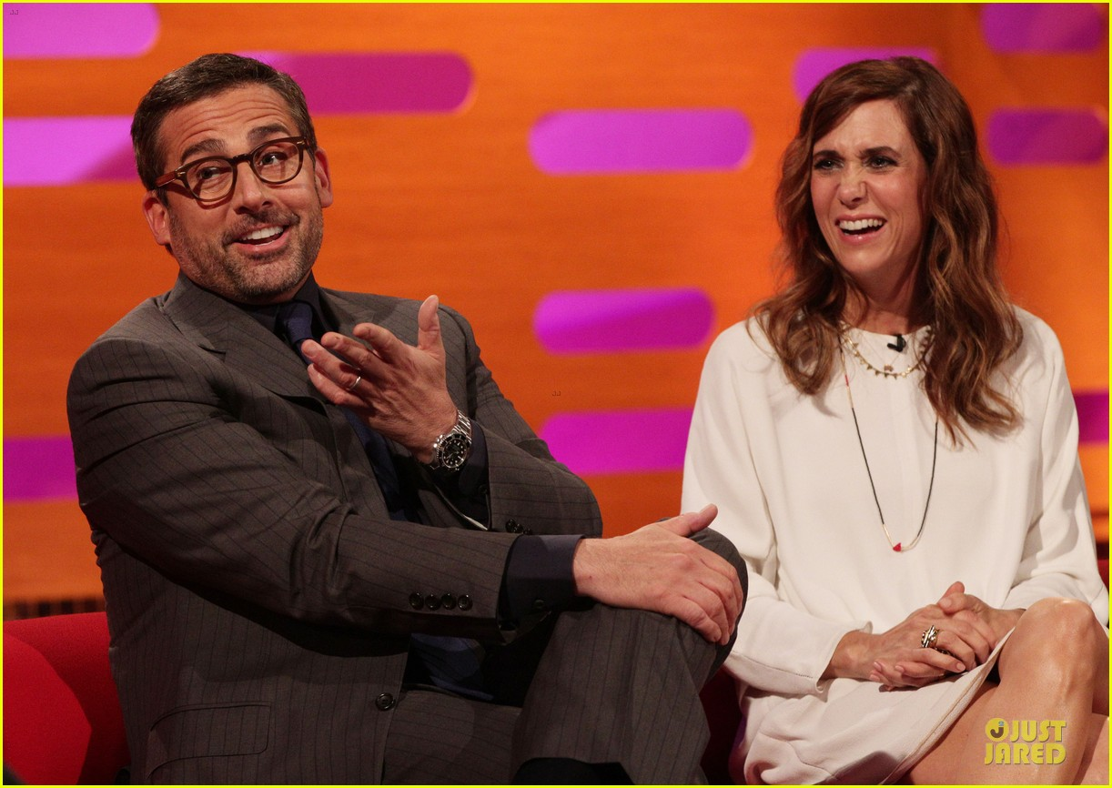 kristen wiig steve carrell the graham norton show guests 09
