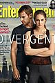 shailene woodley theo james divergent ew cover