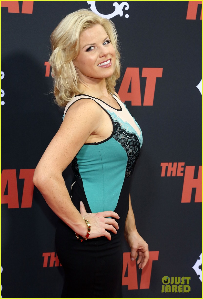 zosia mamet megan hilty the heat new york premiere 072897359