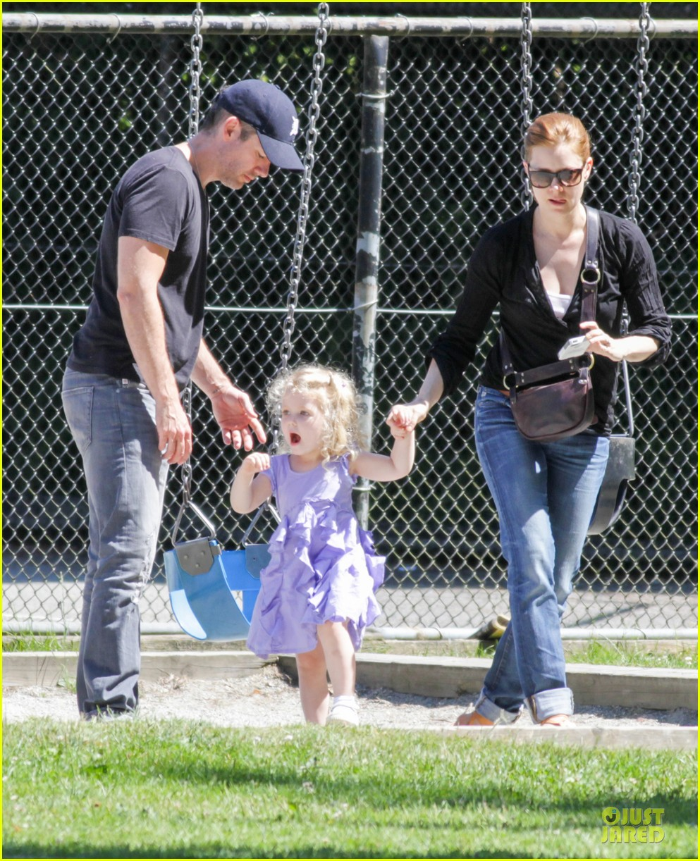 amy adams darren le gallo park date with aviana 052905244