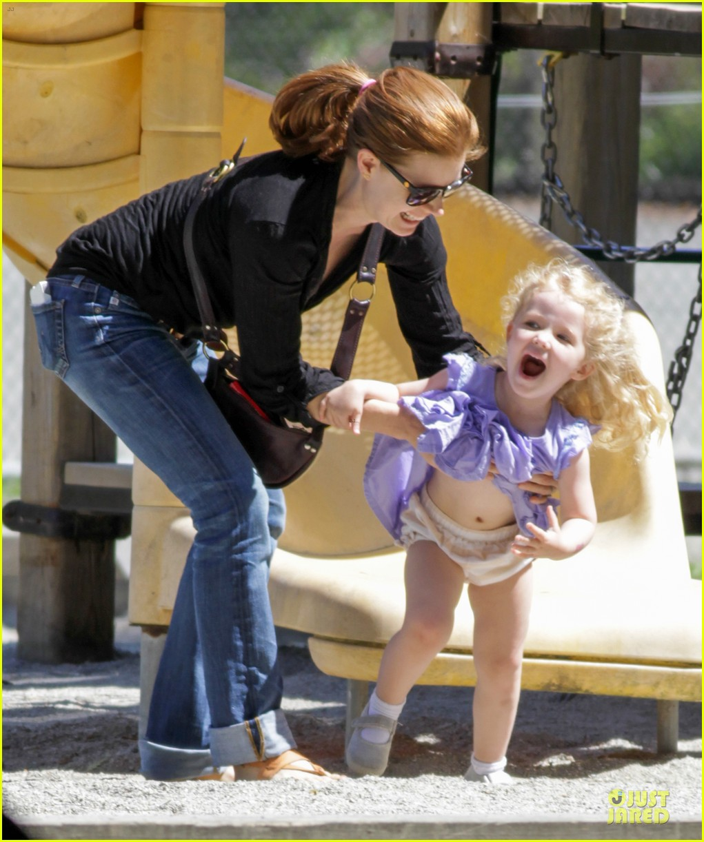 amy adams darren le gallo park date with aviana 16