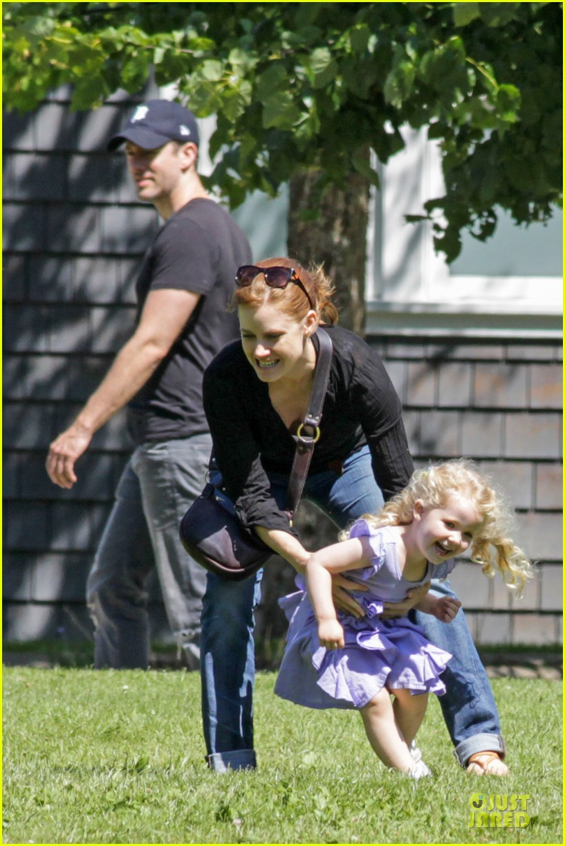 amy adams darren le gallo park date with aviana 202905259