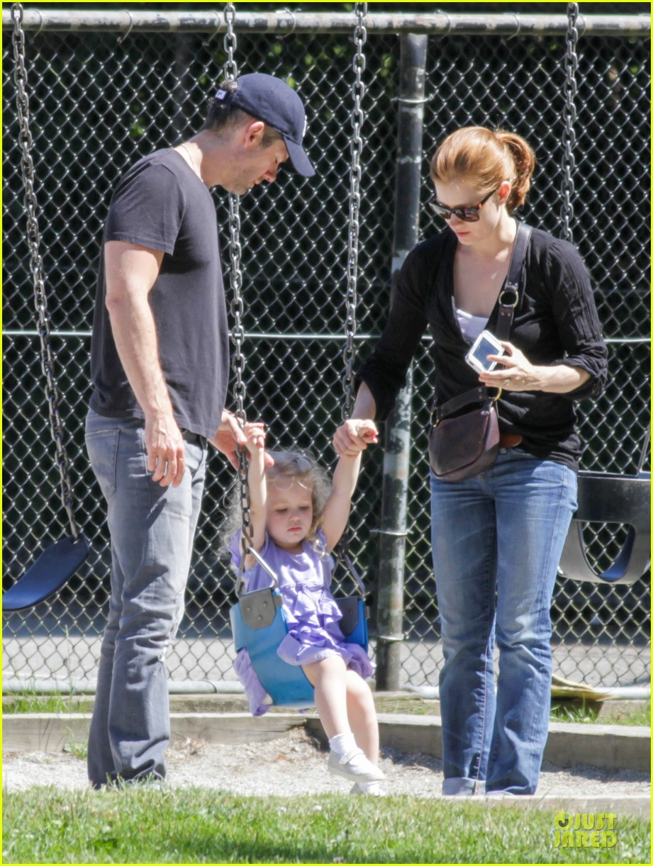 amy adams darren le gallo park date with aviana 22