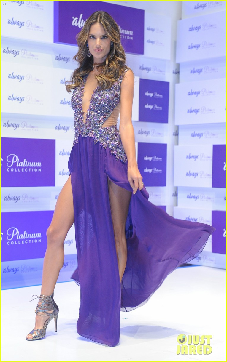 alessandra ambrosio always platinum collection launch 05