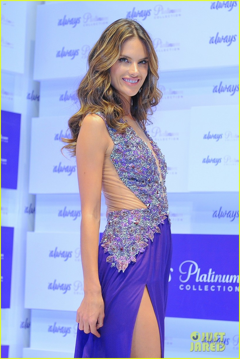 alessandra ambrosio always platinum collection launch 14