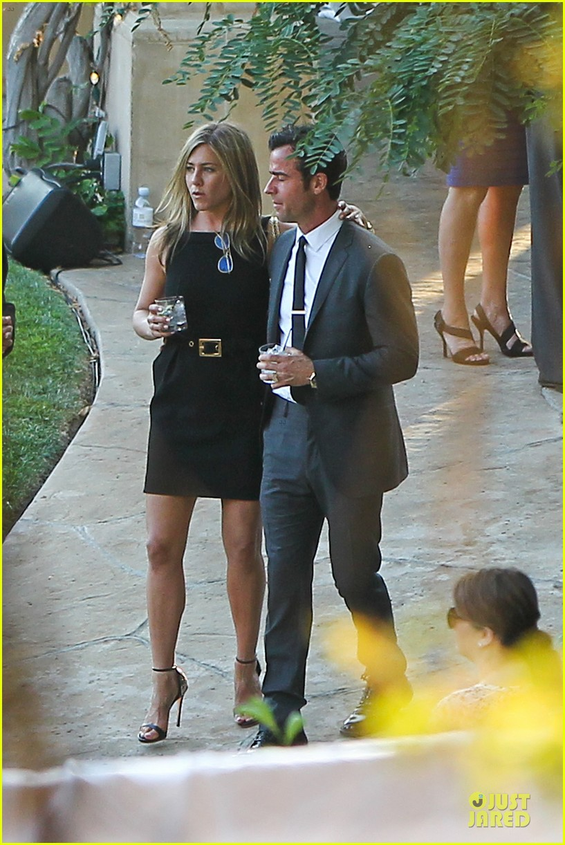 jennifer aniston justin theroux jimmy kimmel wedding guests 01