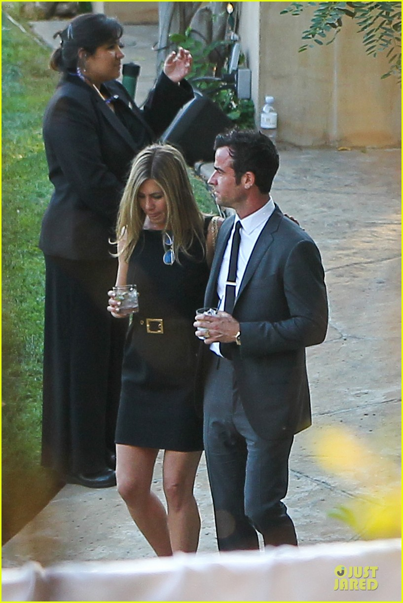 jennifer aniston justin theroux jimmy kimmel wedding guests 09