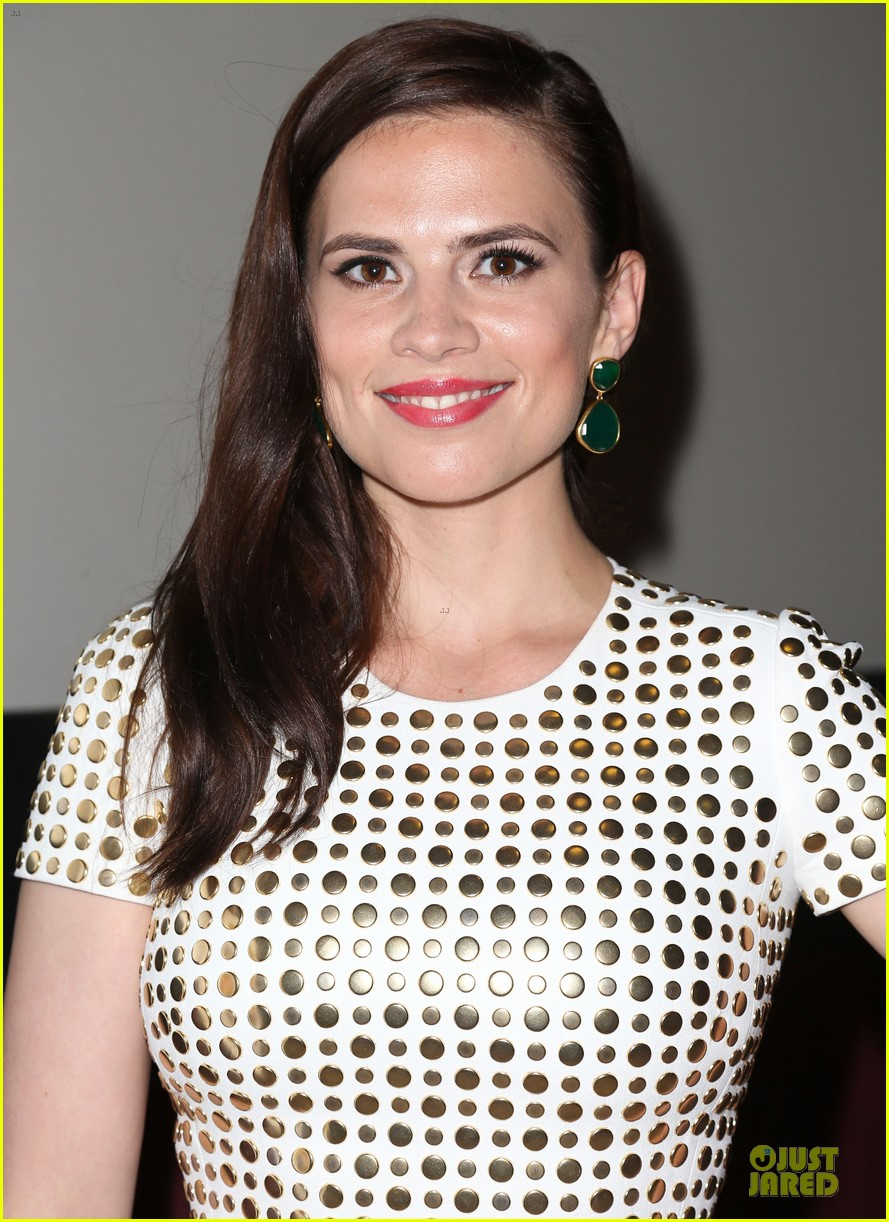 hayley atwell marvel one shot agent carter screening 04