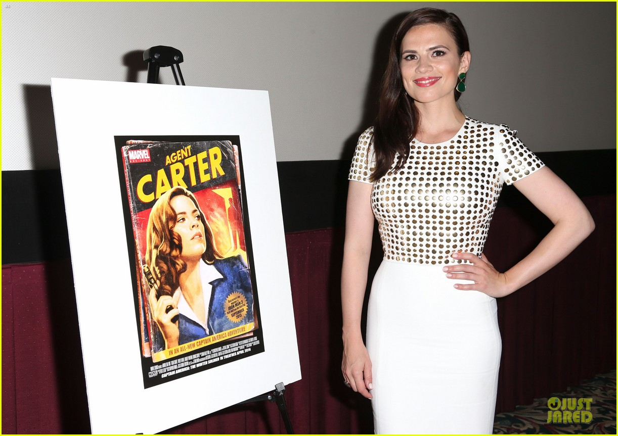hayley atwell marvel one shot agent carter screening 17