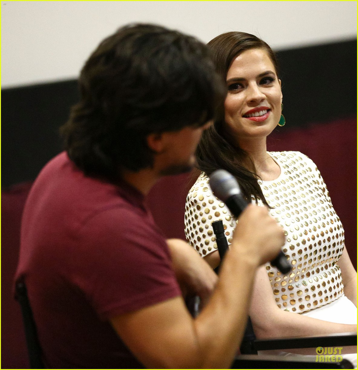 hayley atwell marvel one shot agent carter screening 18