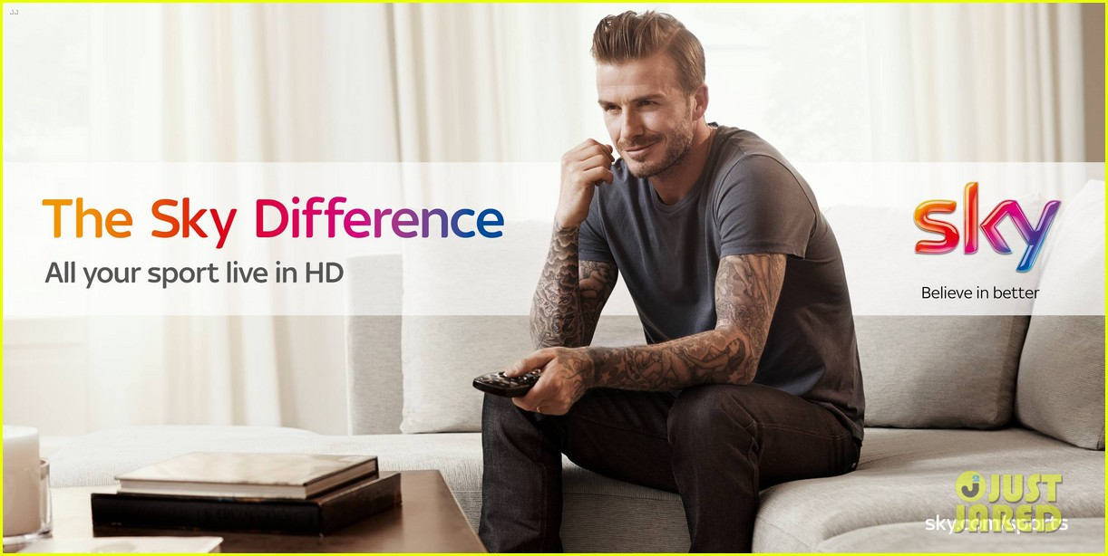 david beckham sky sports tv commercial ad campaign 042909733