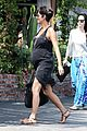 halle berry pregnancy glowing fabric shopping 03