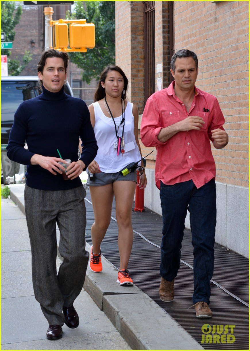 matt bomer taylor kitsch film normal heart in nyc 10