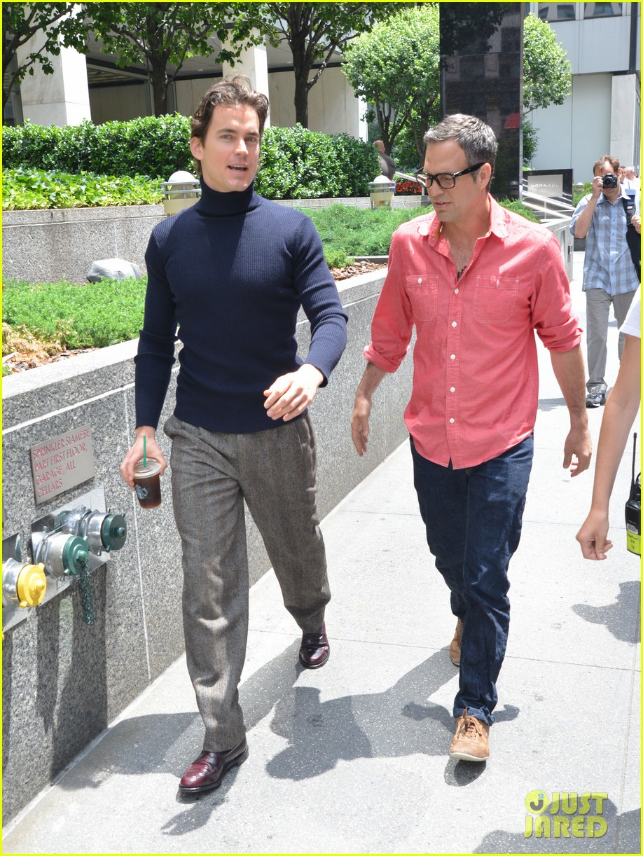 matt bomer taylor kitsch film normal heart in nyc 23