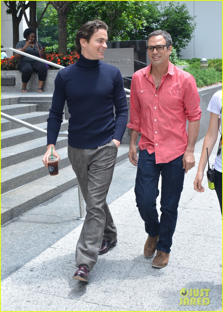 matt bomer taylor kitsch film normal heart in nyc 29