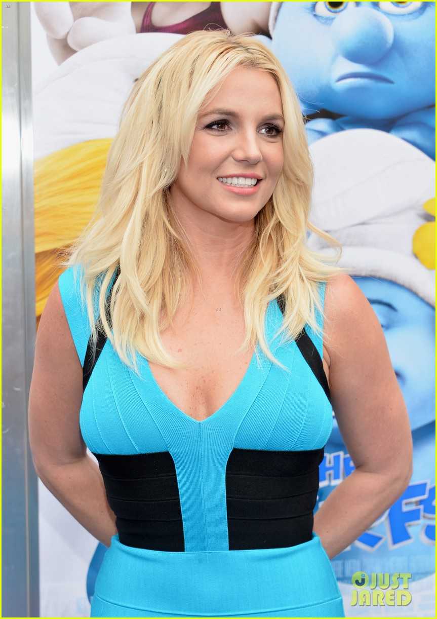 britney spears smurfs 2 premiere with sean preston jayden james 072918772