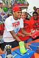 chris brown pleads not guity to hit run charges 08