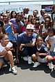 chris brown walk everywhere in unity shoes event 09