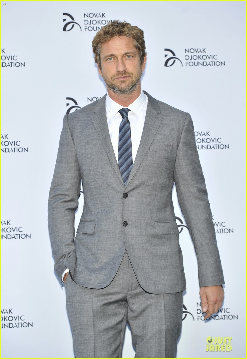 gerard butler novak djokovic foundation gala dinner 012906108
