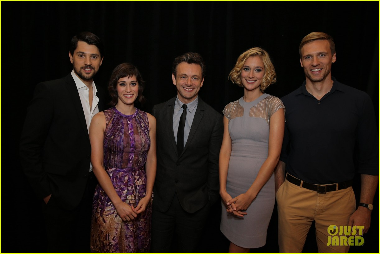 lizzy caplan michael sheen masters of sex tca tour panel 06