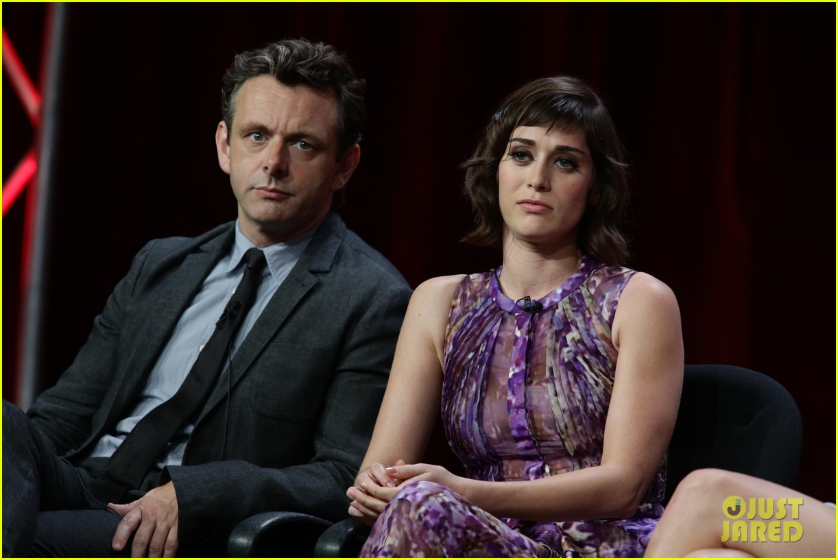 lizzy caplan michael sheen masters of sex tca tour panel 11