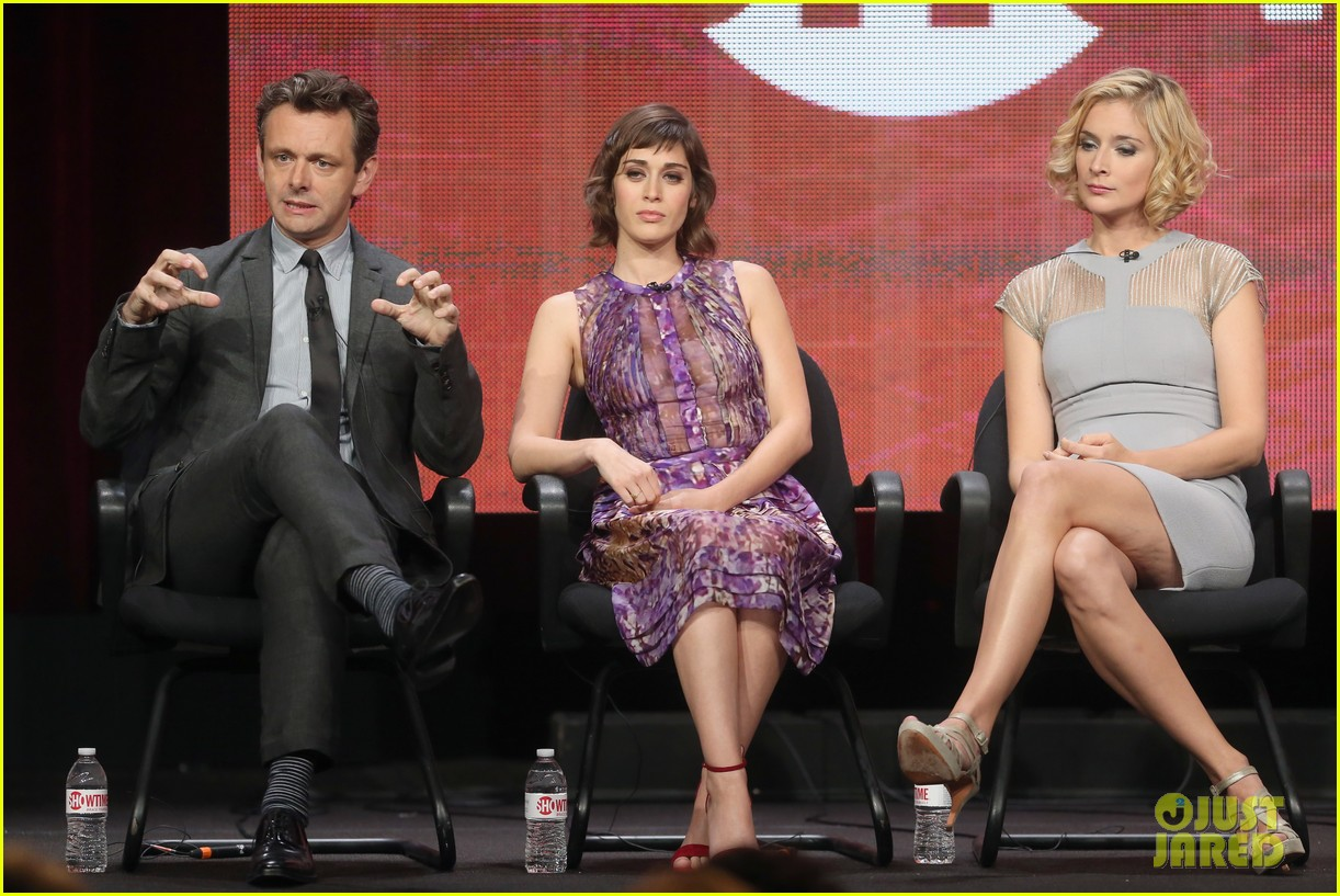 lizzy caplan michael sheen masters of sex tca tour panel 142920474