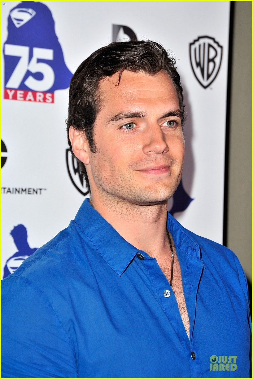 henry cavill superman 75 party at comic con 06