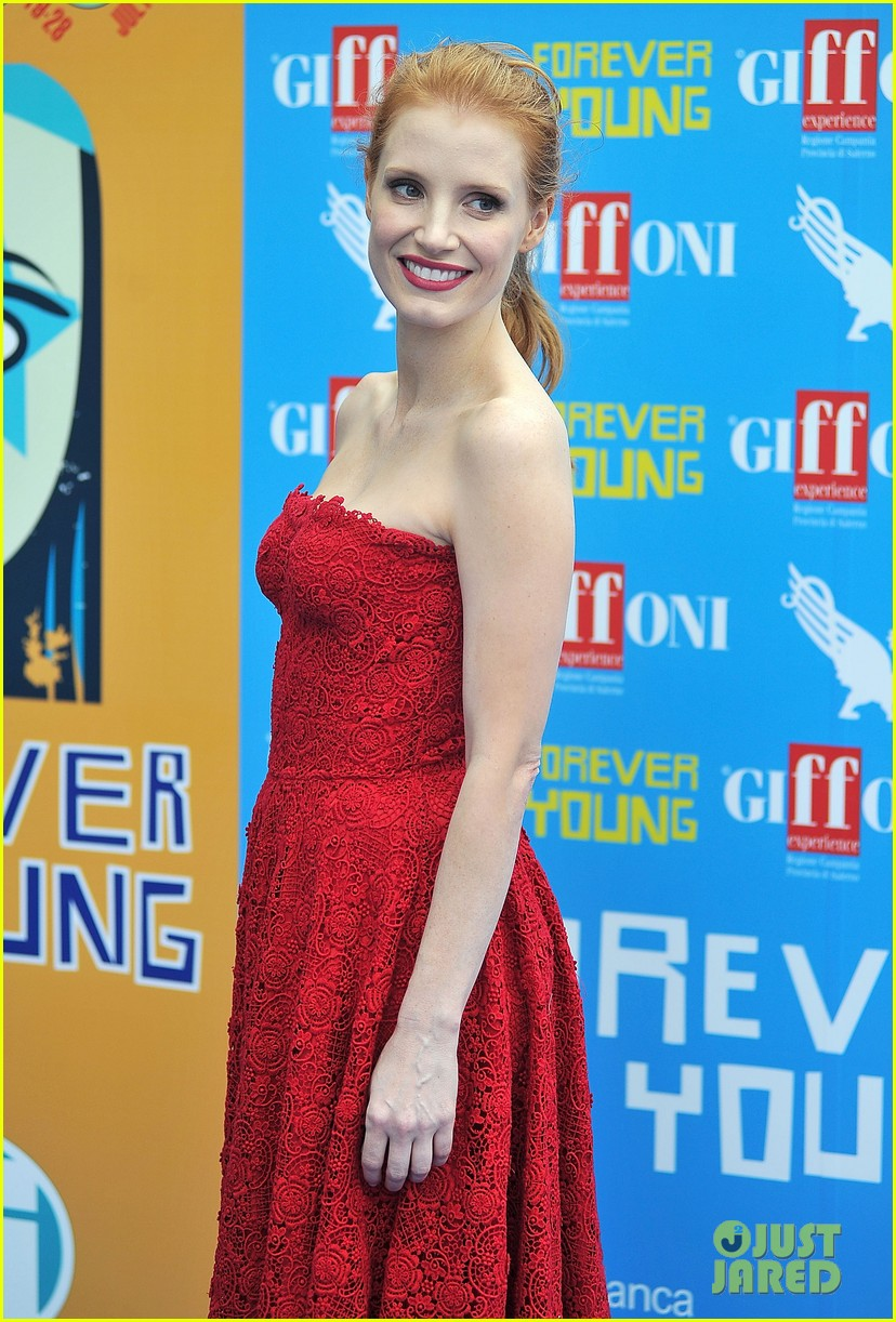 jessica chastain giffoni film festival honoree 09