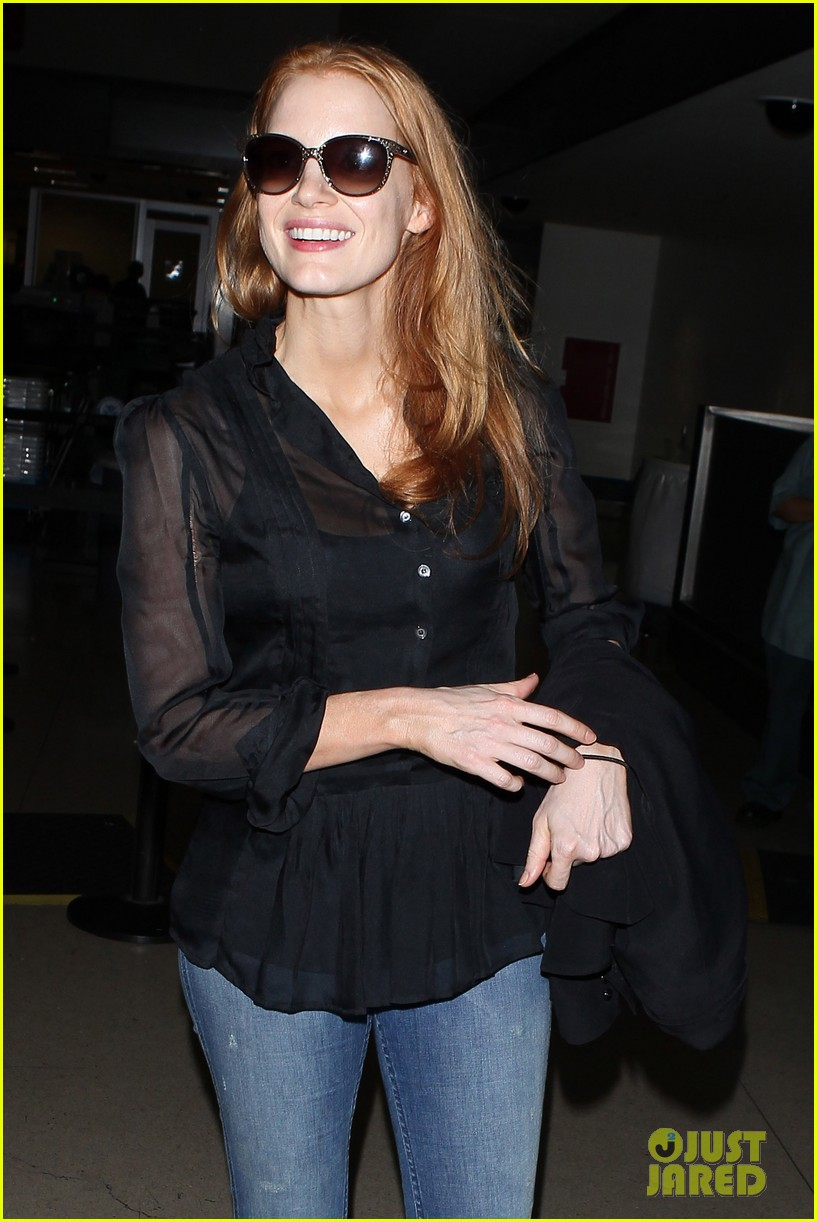 jessica chastain griffoni film festival this weekend 28