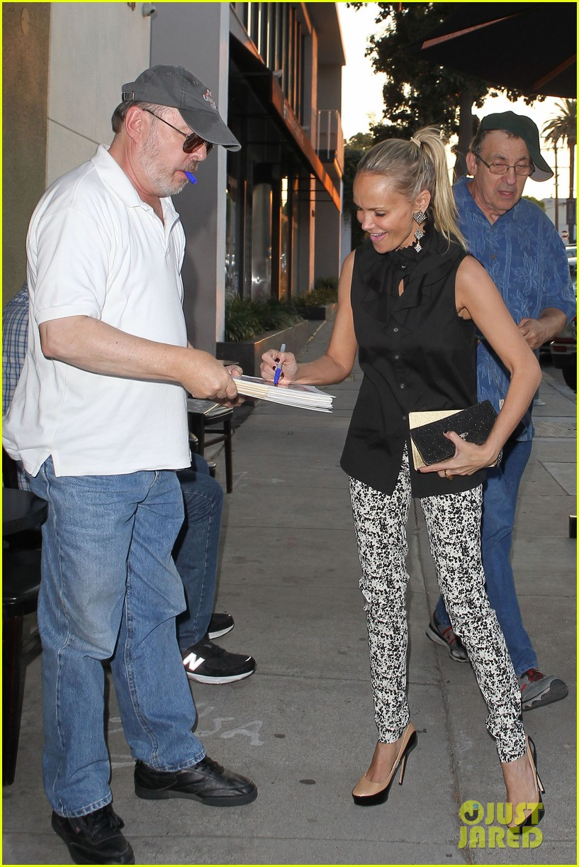 kristin chenoweth i saw grease ten times in the theater 032912002