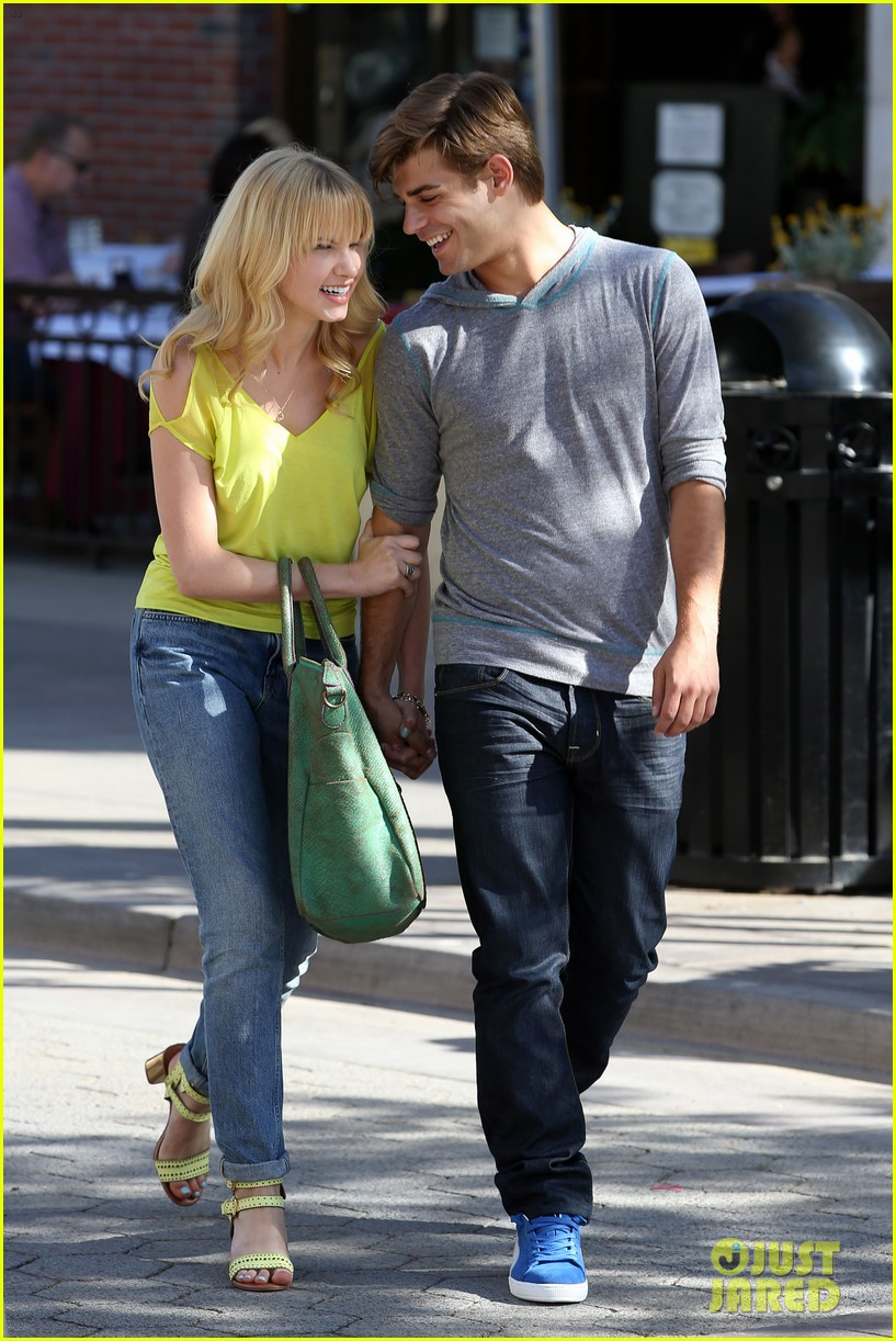 garrett clayton claudia lee holding hands 05