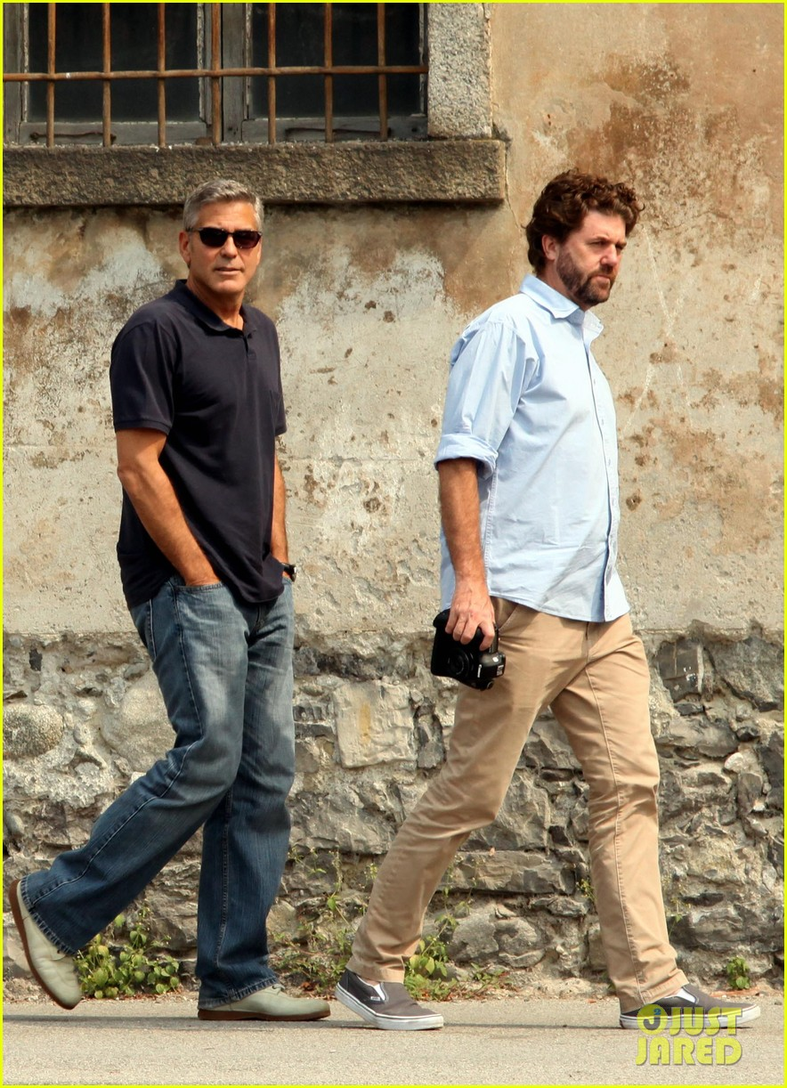 george clooney eva longoria just friends 022912293